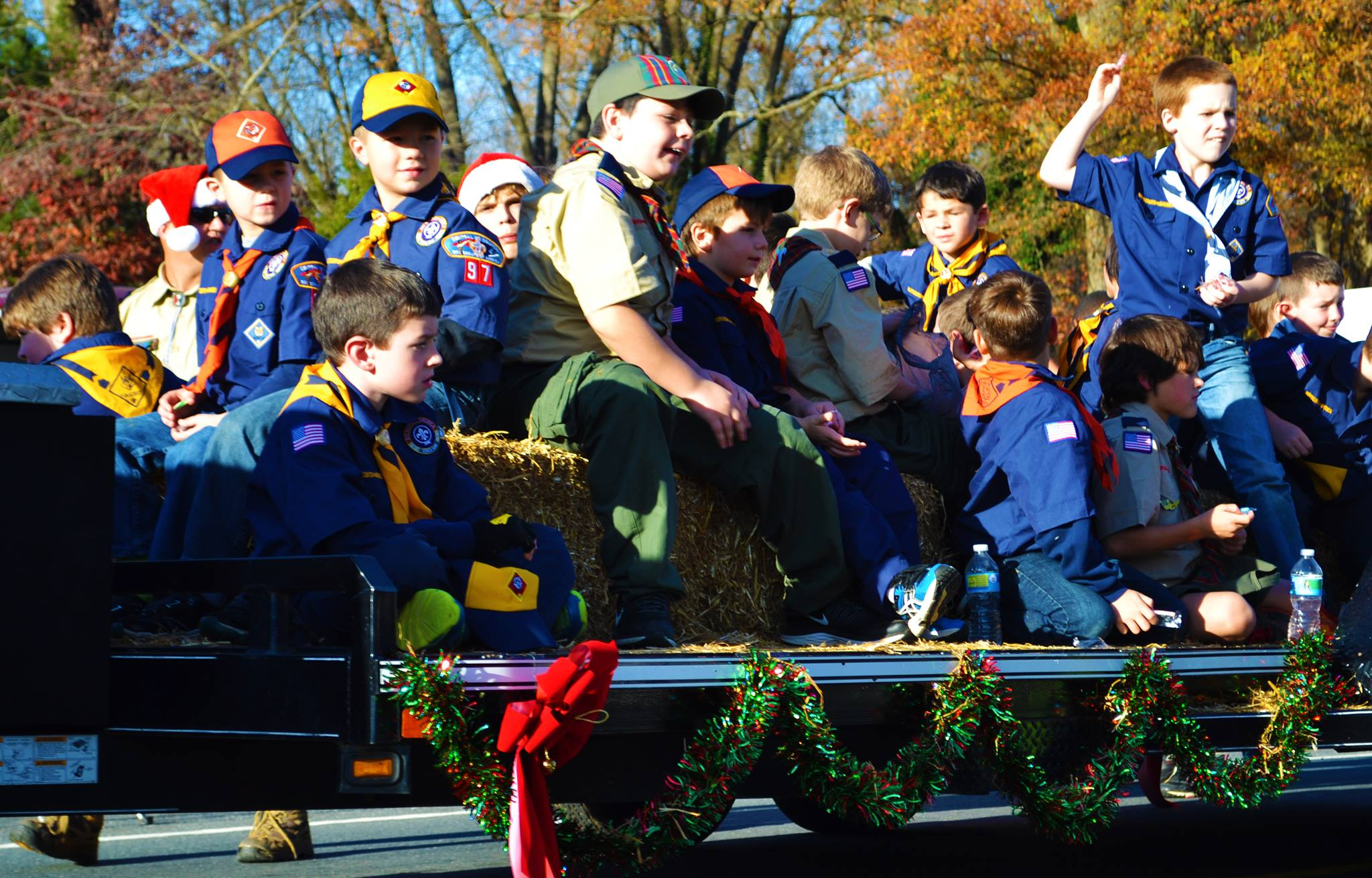 Christmas parade in Indian Trail