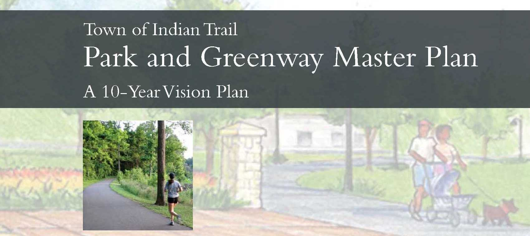 Park and Greenway Master Plan Cover