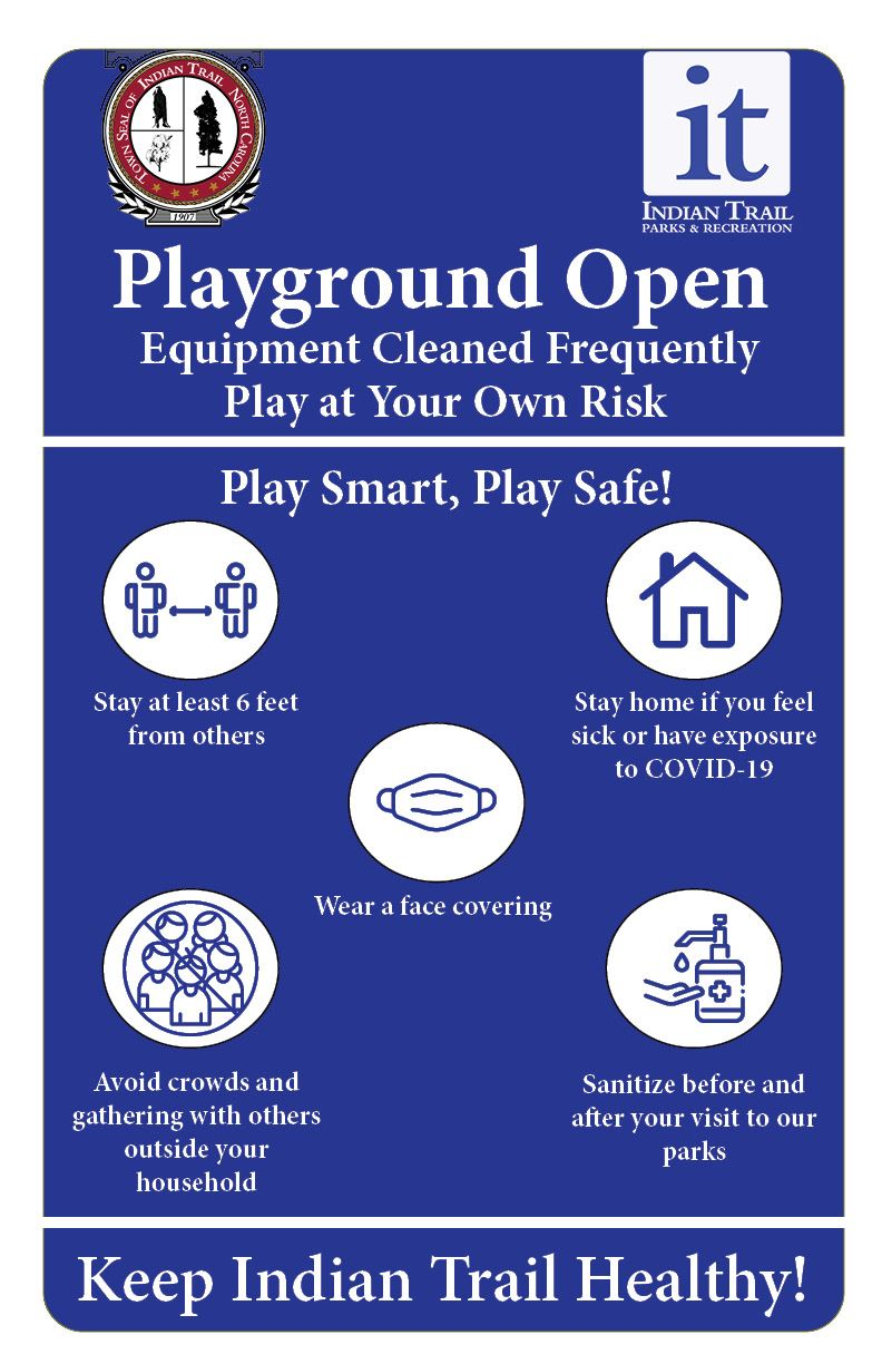 Playground Reopening Guidelines
