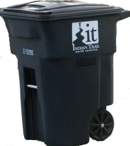 Black in color Garbage Can