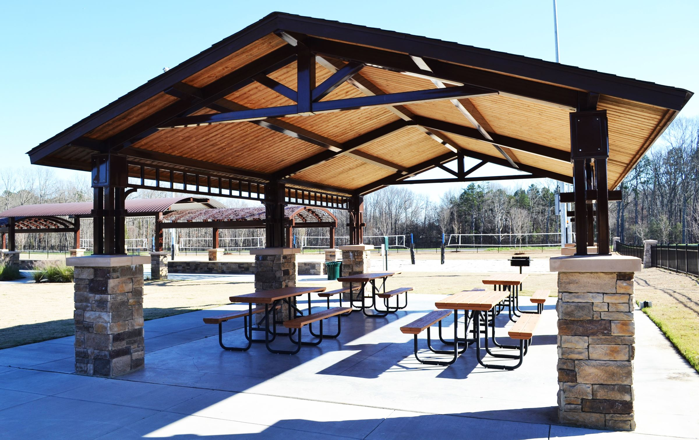 Chestnut Square Park shelter