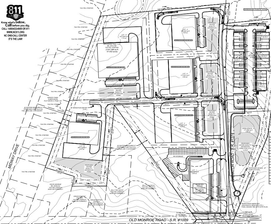Valley Commons Business Park Site Plan